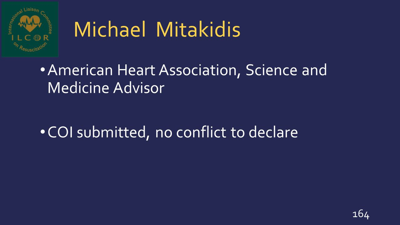 Michael Mitakidis American Heart Association, Science and Medicine Advisor.