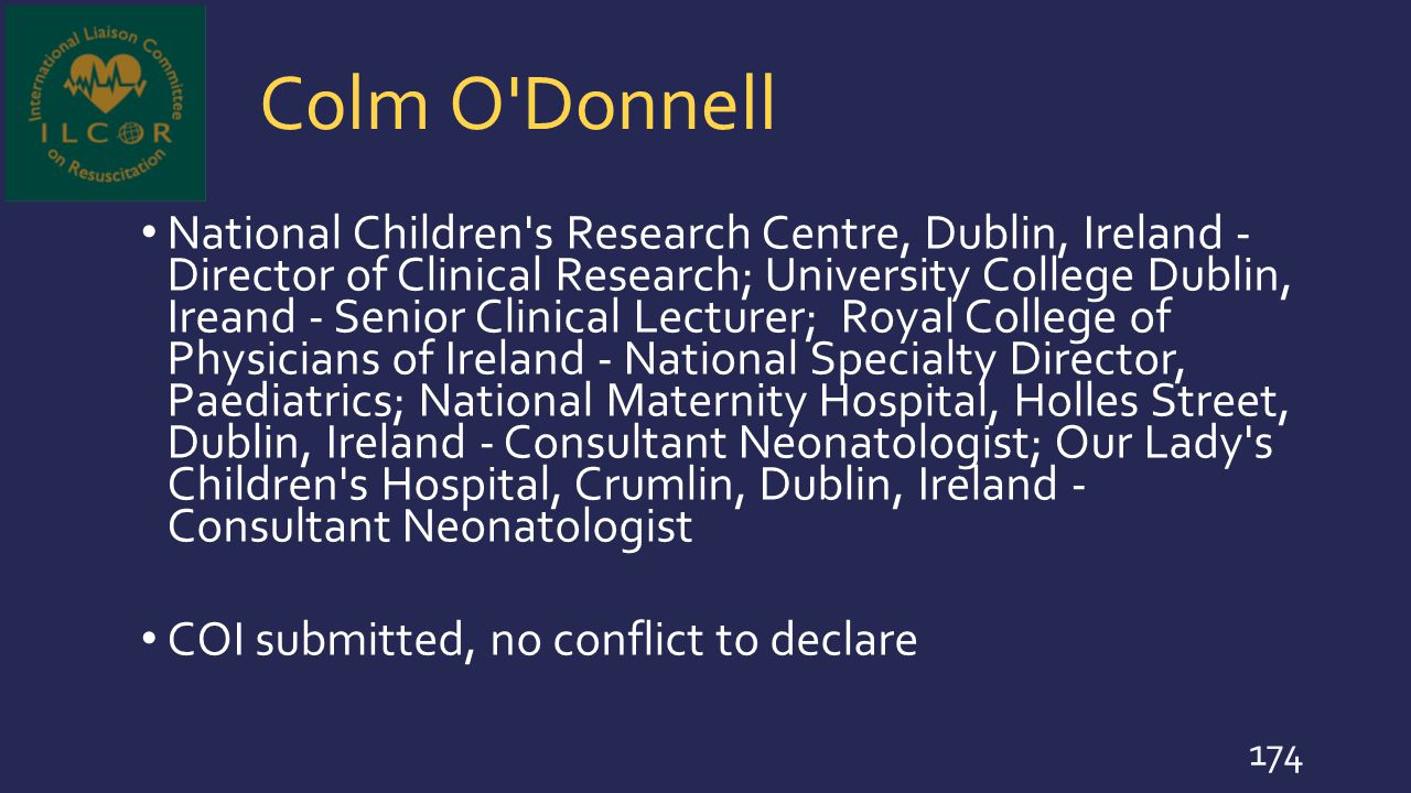Colm O Donnell