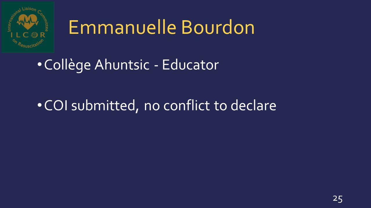 Emmanuelle Bourdon Collège Ahuntsic - Educator