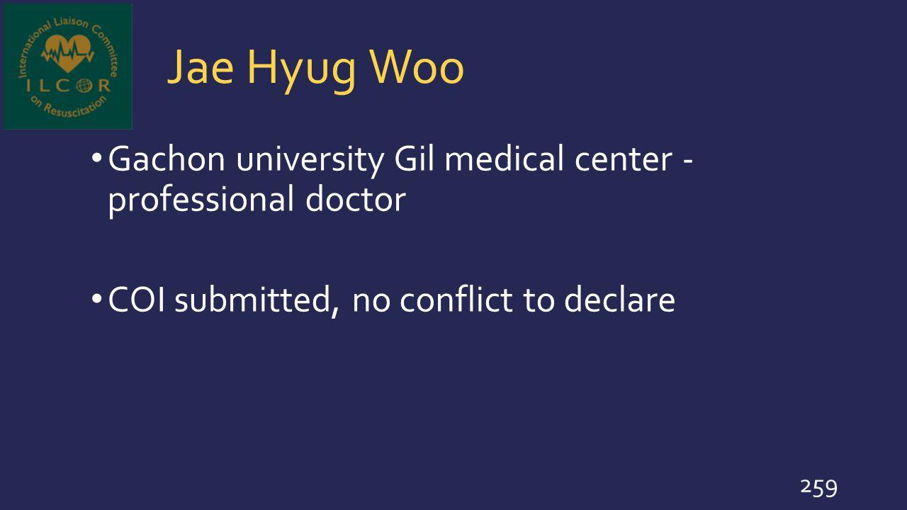 Jae Hyug Woo Gachon university Gil medical center - professional doctor.