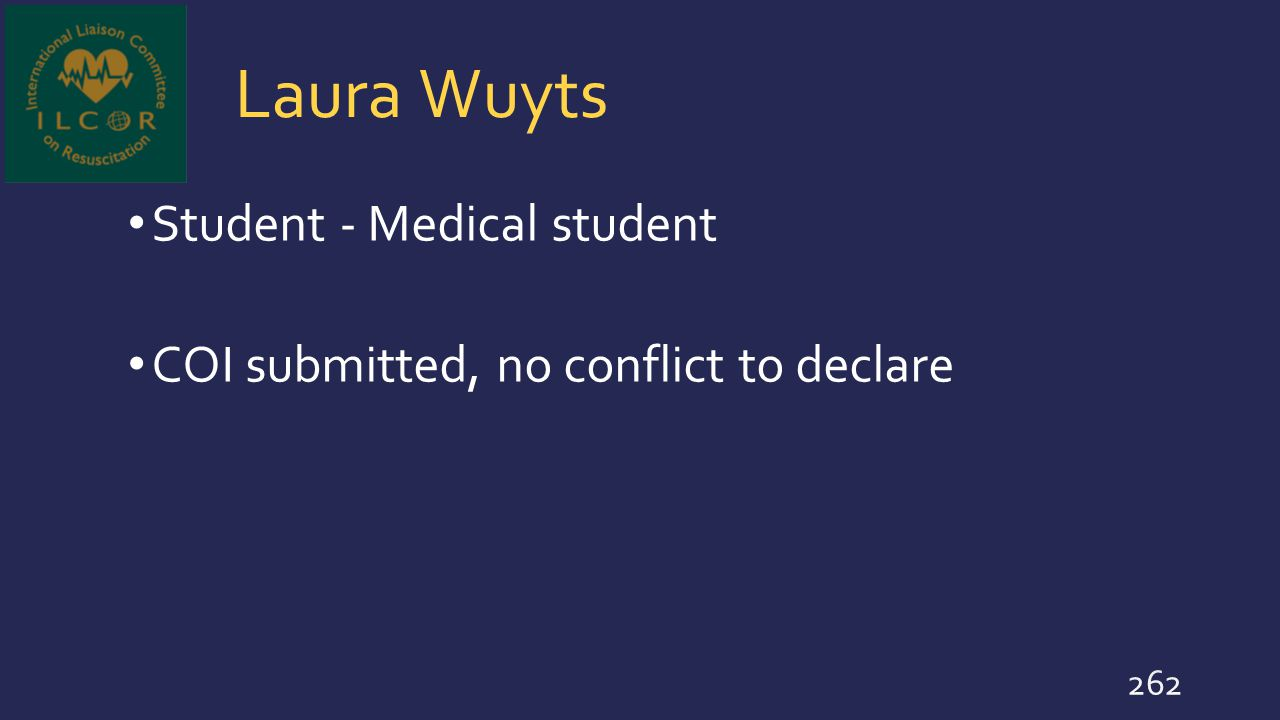 Laura Wuyts Student - Medical student