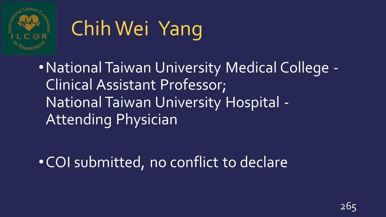 Chih Wei Yang