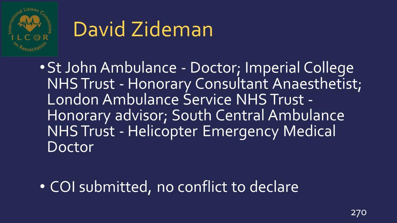 David Zideman