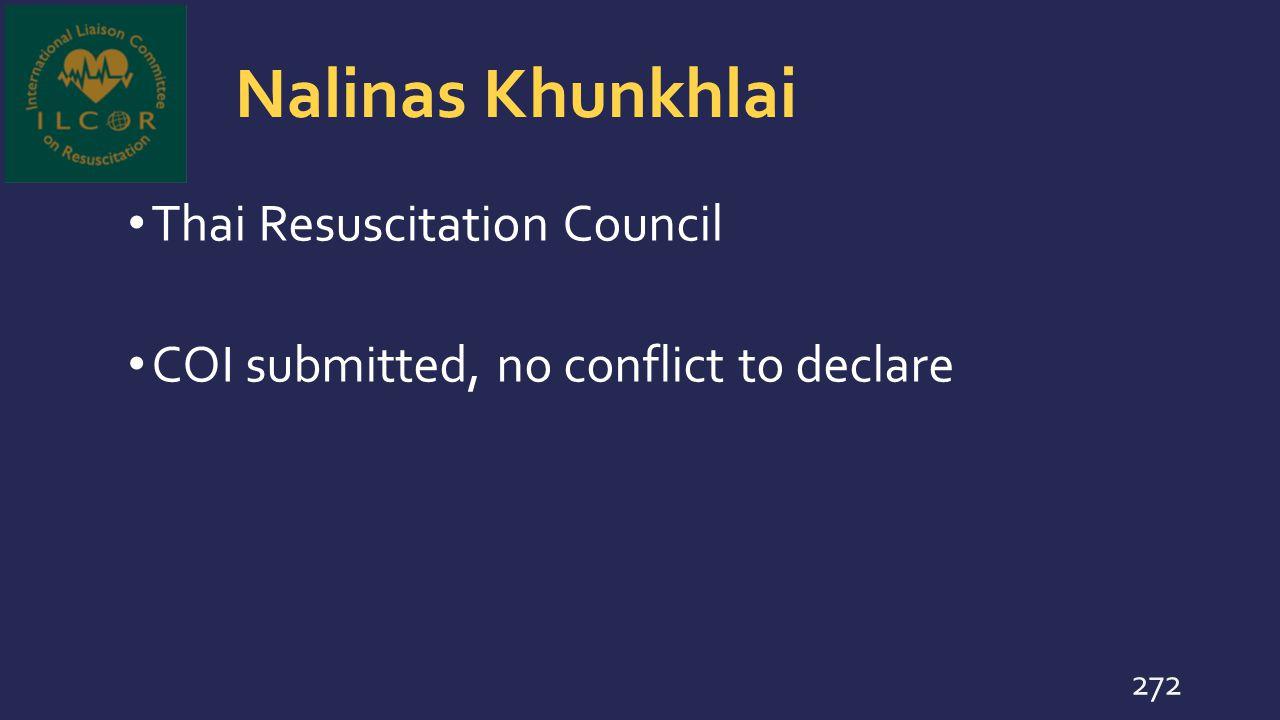 Nalinas Khunkhlai Thai Resuscitation Council