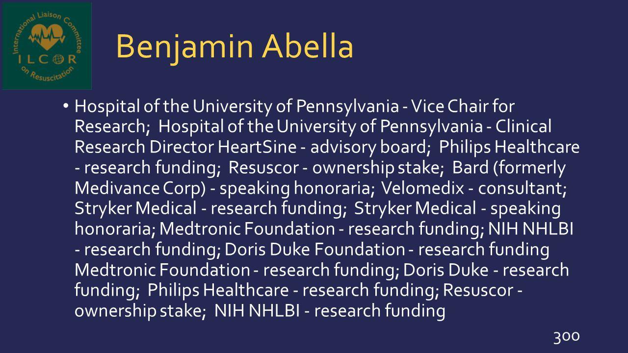 Benjamin Abella