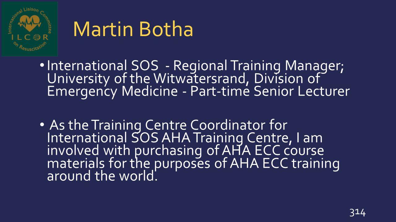 Martin Botha