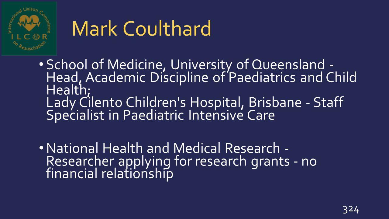 Mark Coulthard