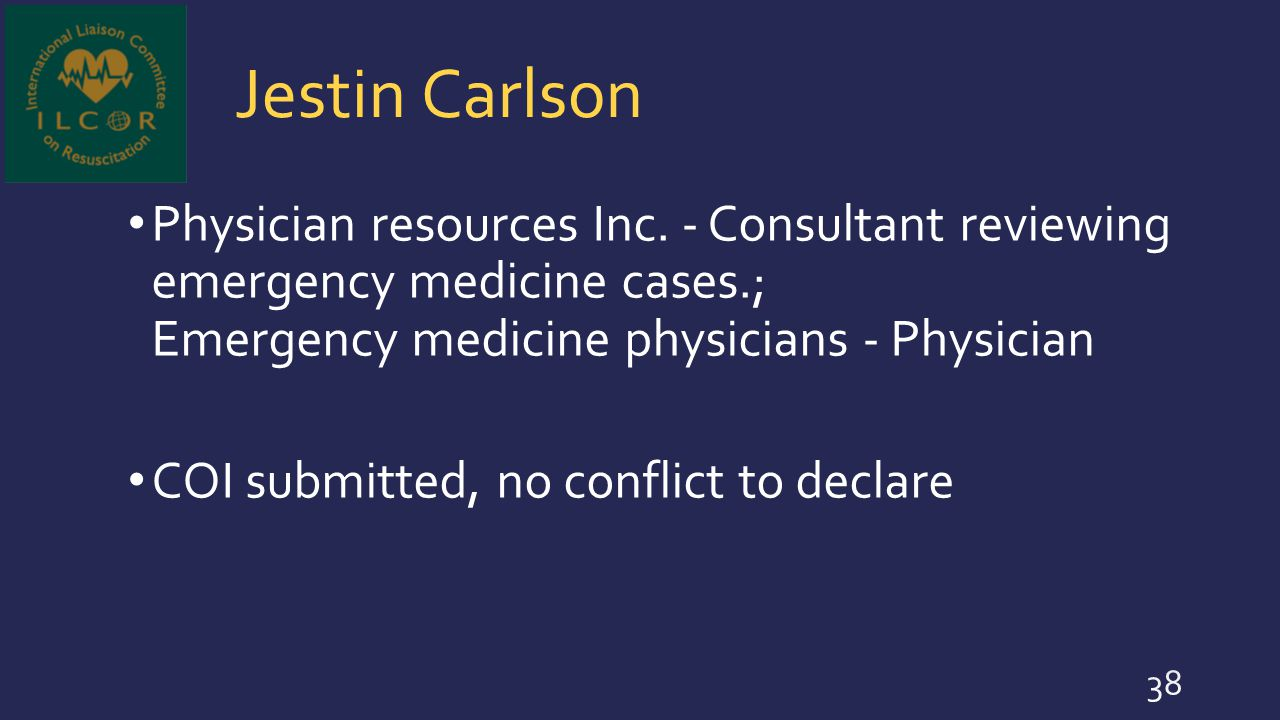 Jestin Carlson Physician resources Inc. - Consultant reviewing emergency medicine cases.; Emergency medicine physicians - Physician.