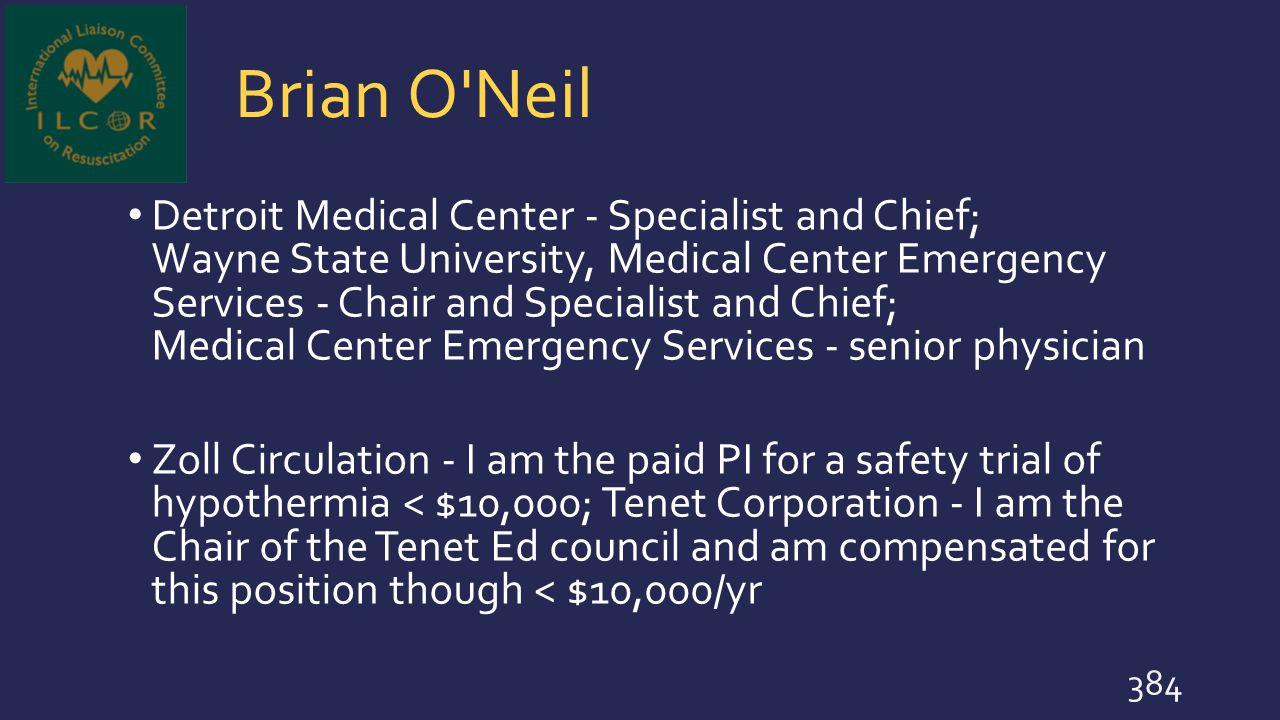 Brian O Neil