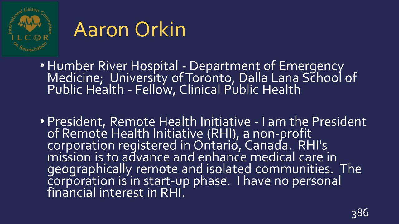 Aaron Orkin