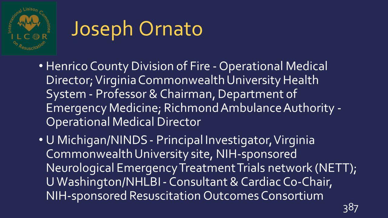 Joseph Ornato
