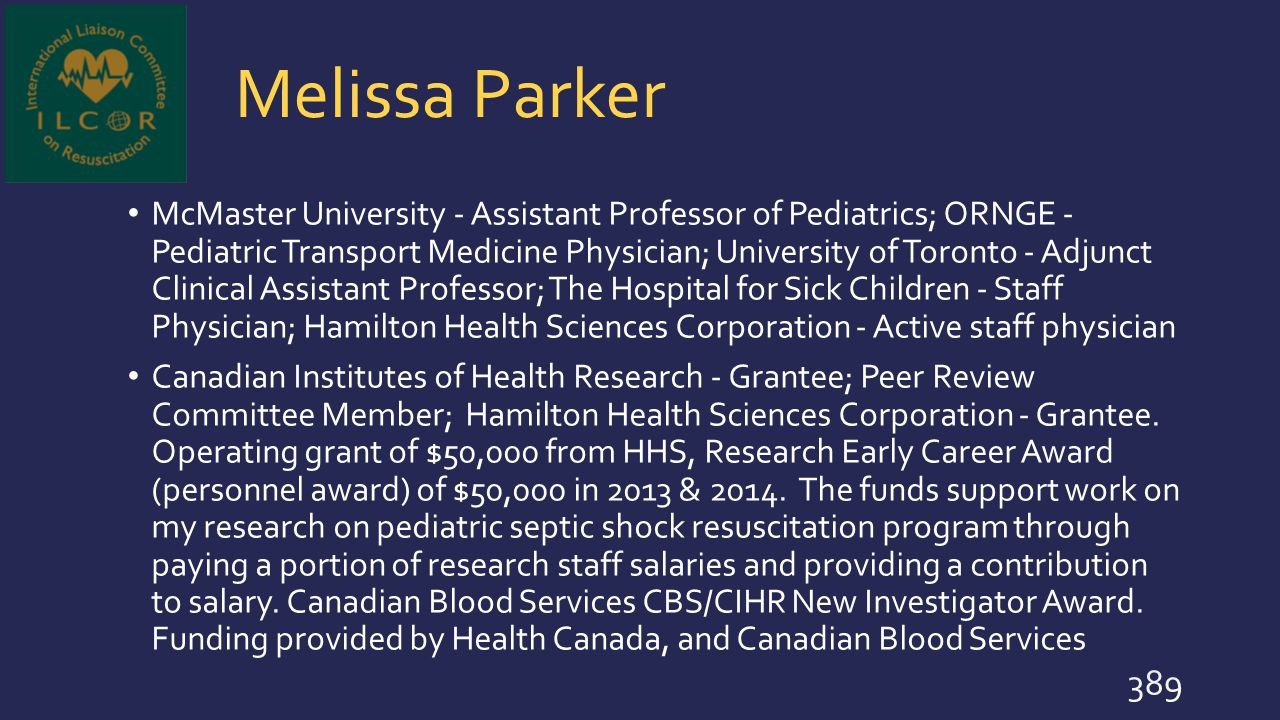 Melissa Parker