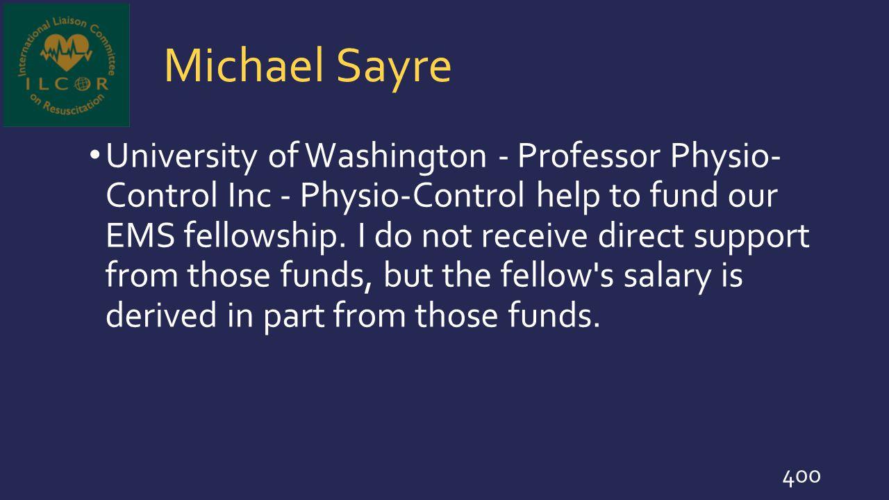 Michael Sayre