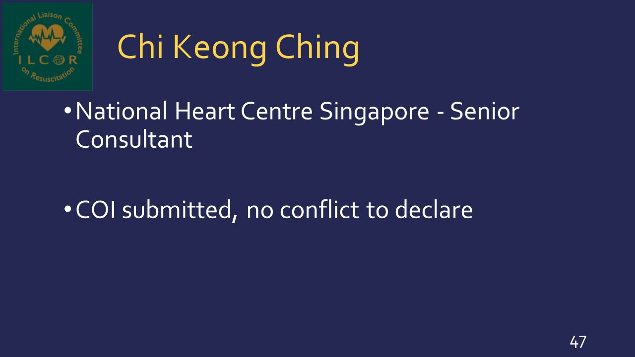 Chi Keong Ching National Heart Centre Singapore - Senior Consultant