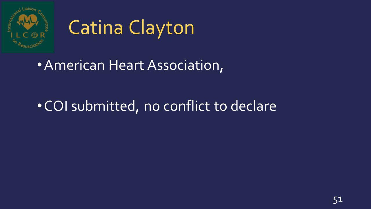 Catina Clayton American Heart Association,