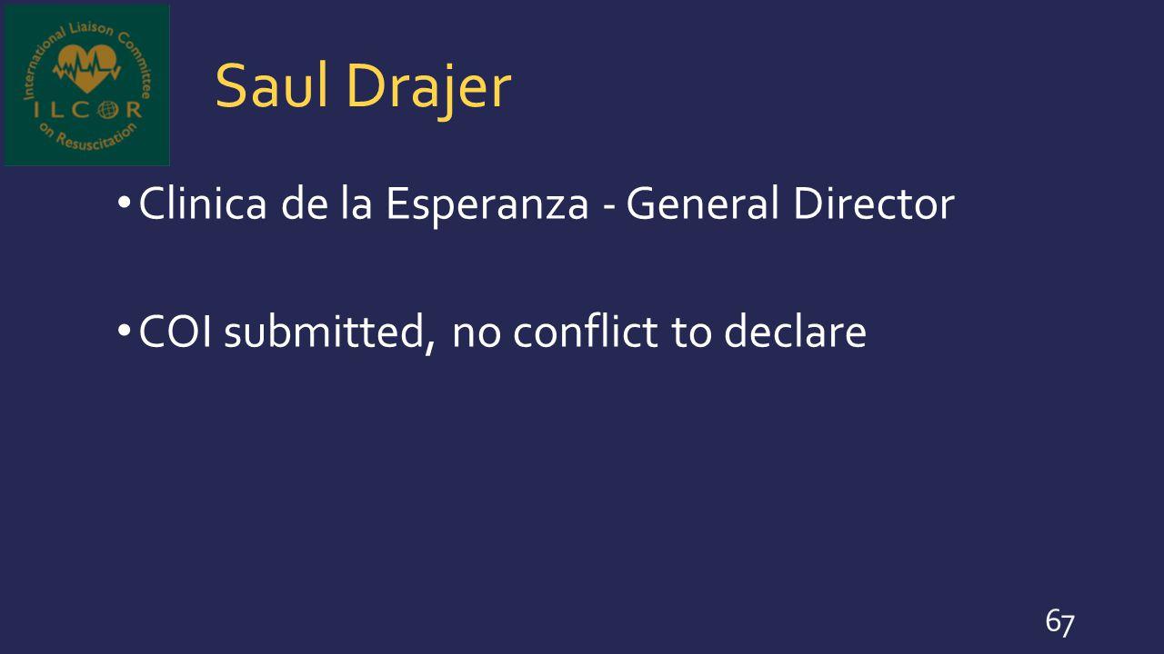 Saul Drajer Clinica de la Esperanza - General Director