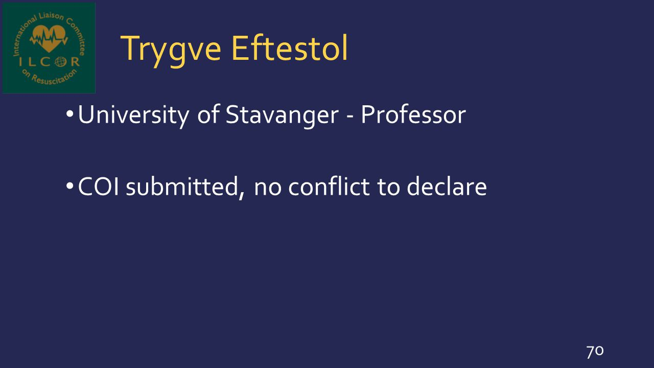 Trygve Eftestol University of Stavanger - Professor