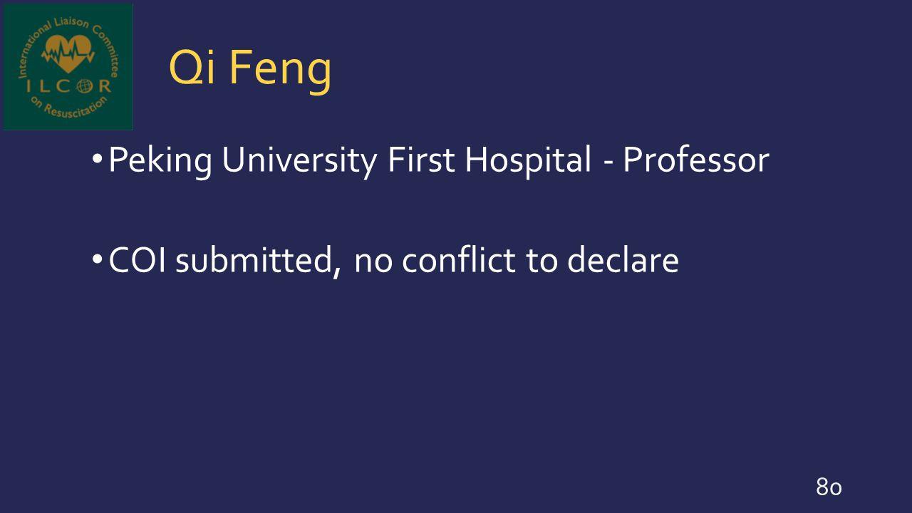 Qi Feng Peking University First Hospital - Professor