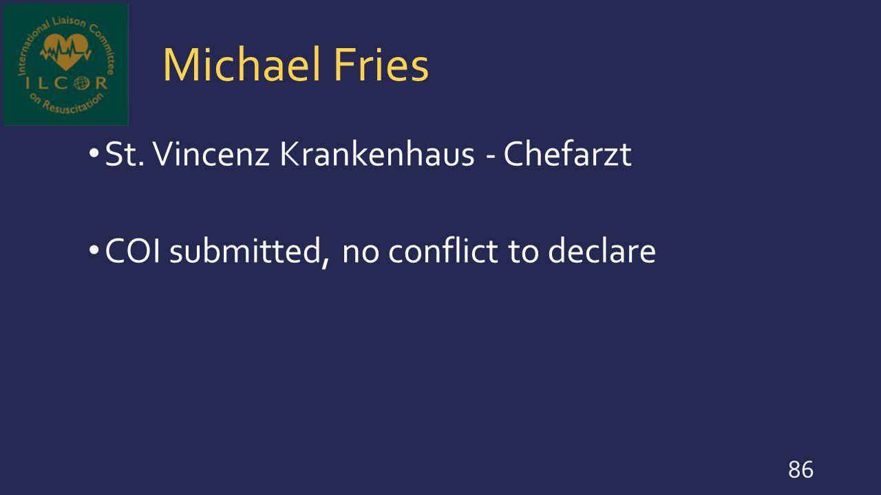 Michael Fries St. Vincenz Krankenhaus - Chefarzt
