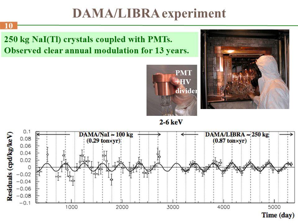 DAMA/LIBRA experiment