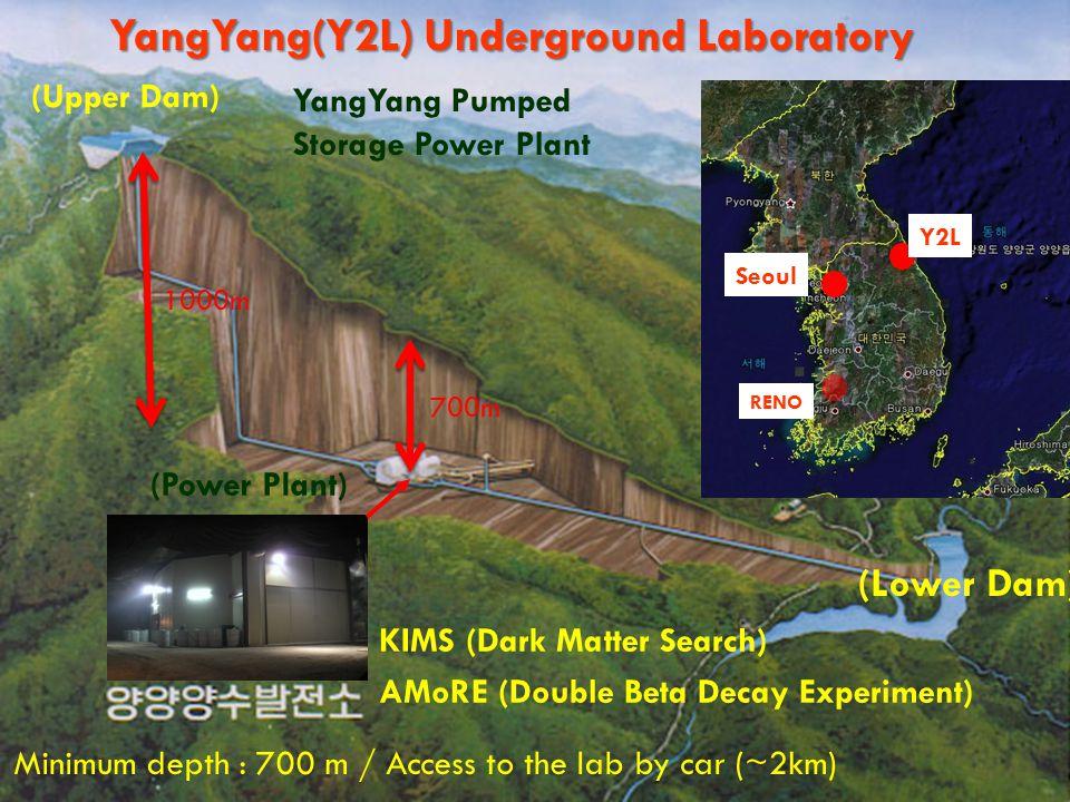 YangYang(Y2L) Underground Laboratory