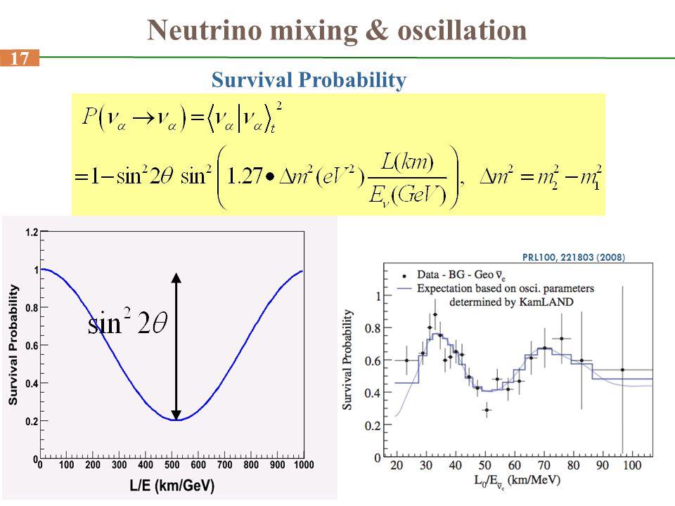 Neutrino mixing & oscillation