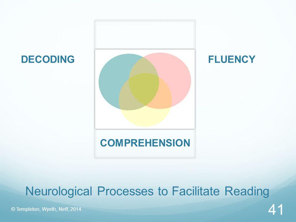Neurological Processes to Facilitate Reading