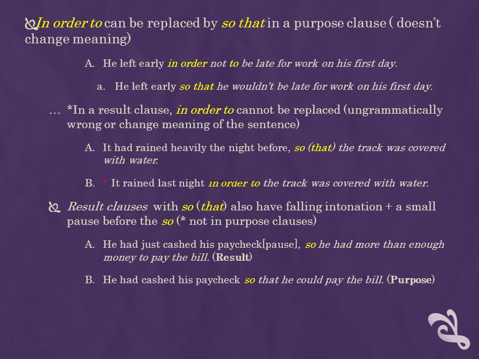 In order to can be replaced by so that in a purpose clause ( doesn't change meaning)