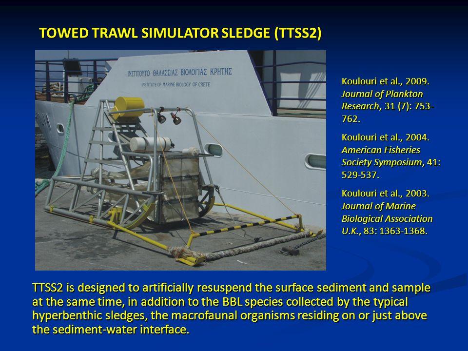 TOWED TRAWL SIMULATOR SLEDGE (TTSS2)
