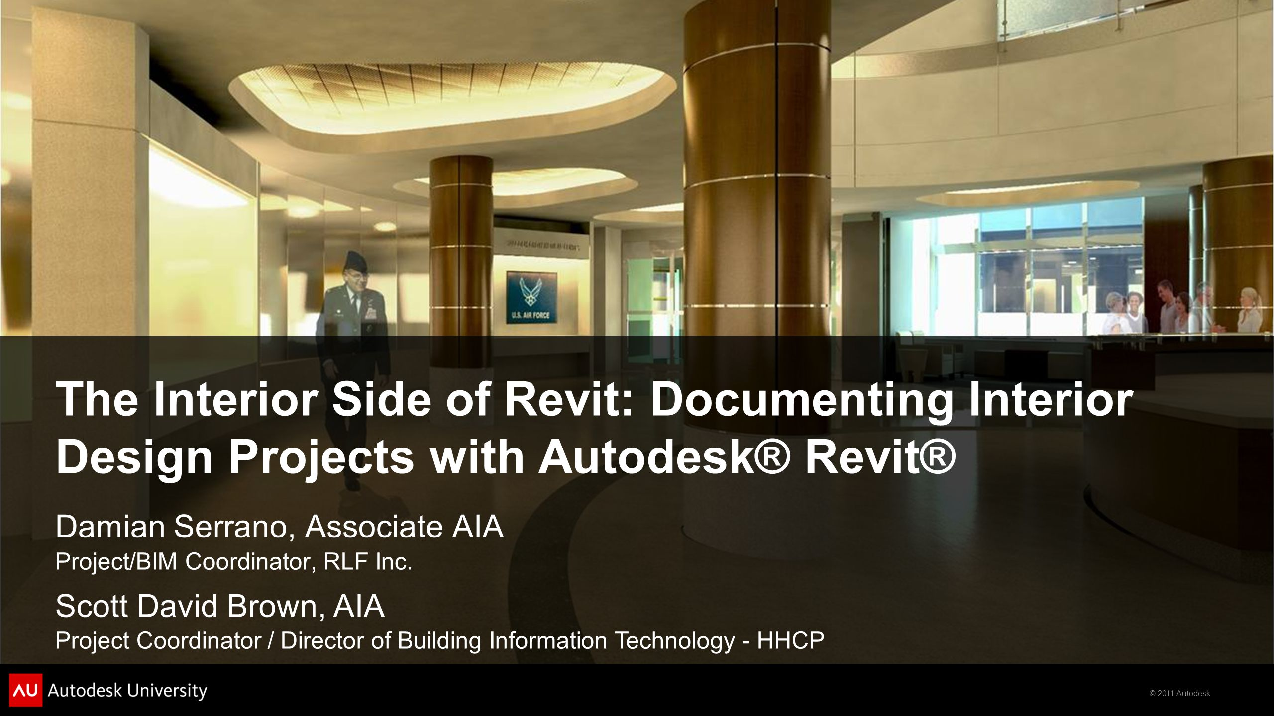 The Interior Side of Revit: Documenting Interior Design Projects with Autodesk® Revit®