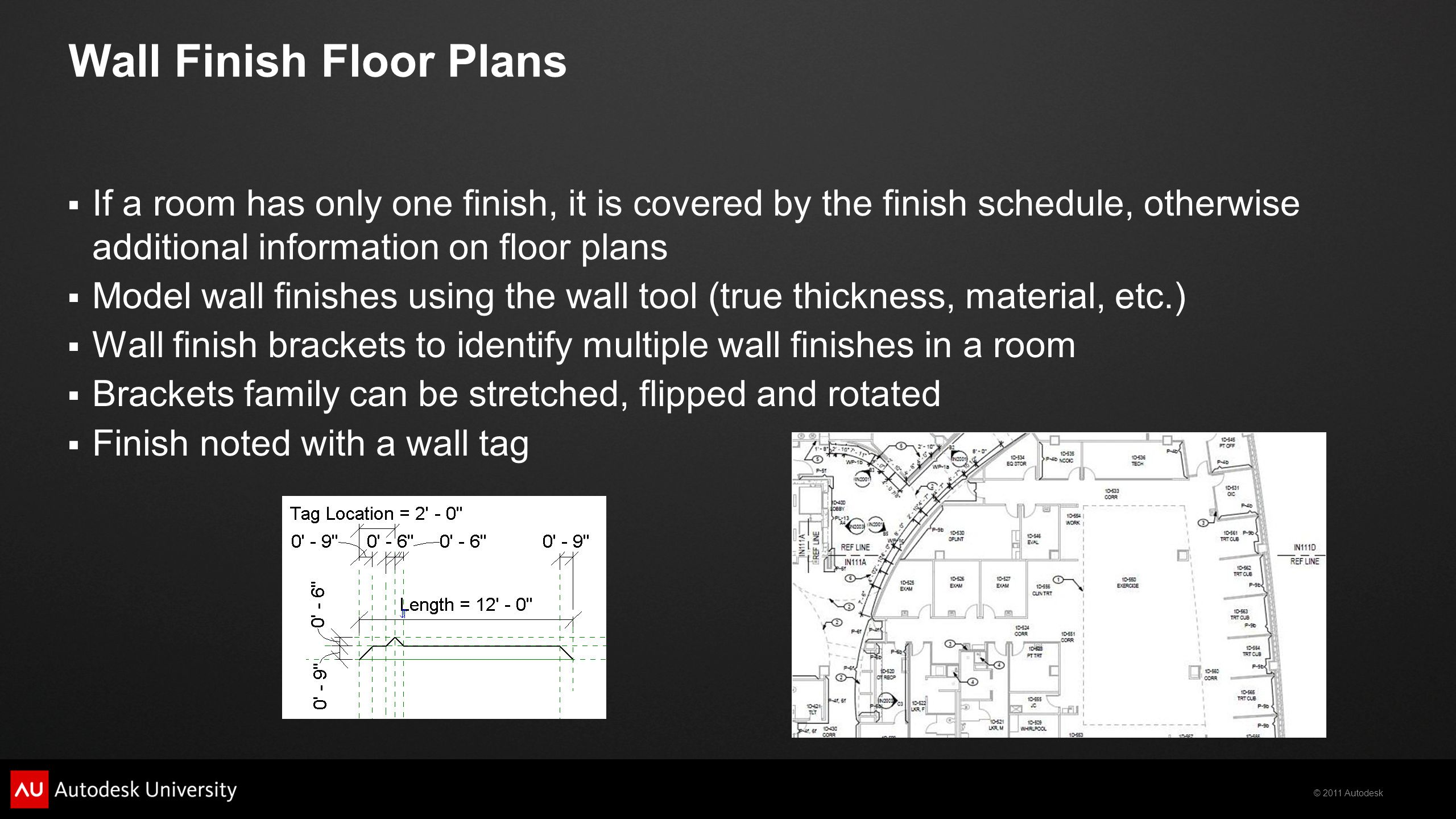 Wall Finish Floor Plans