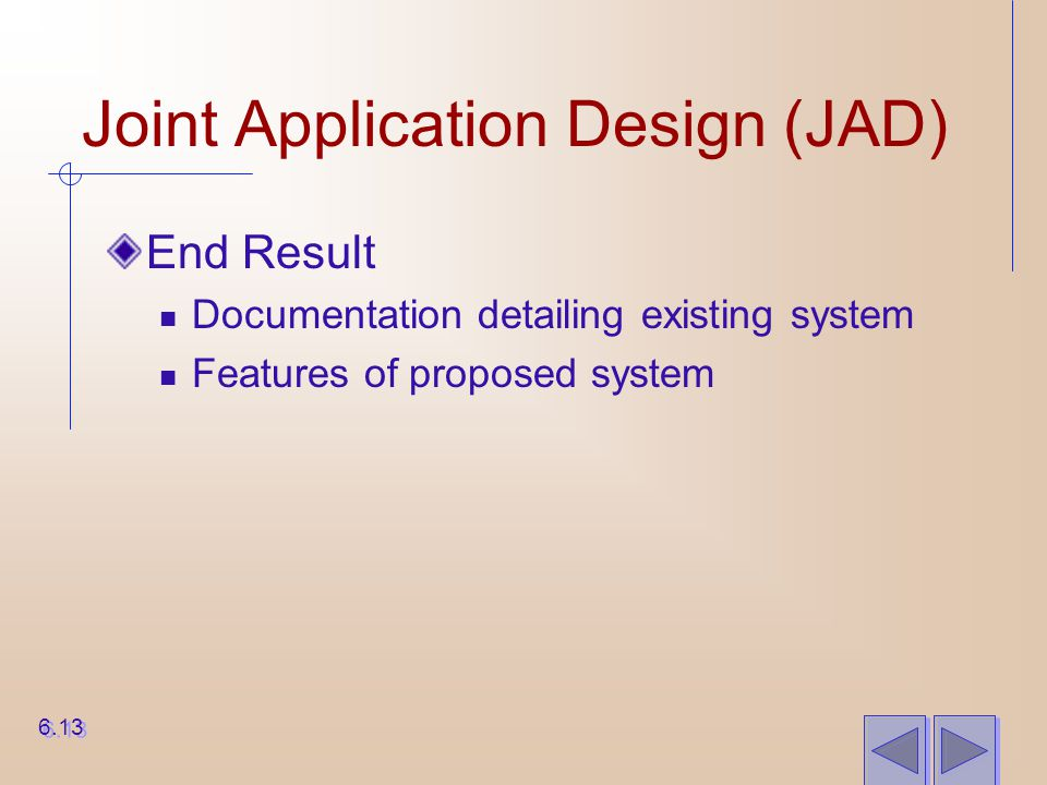 Joint Application Design (JAD)