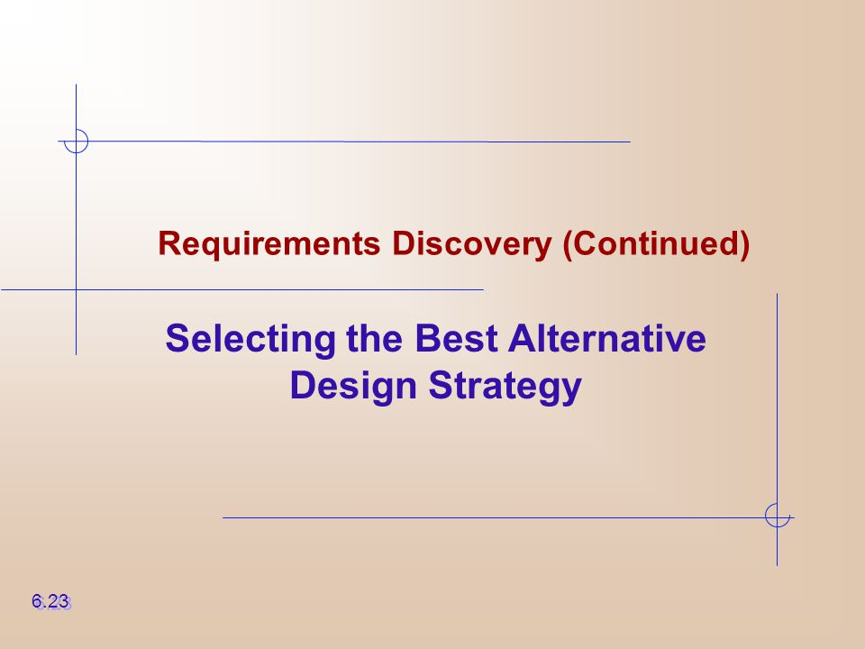 Requirements Discovery (Continued)