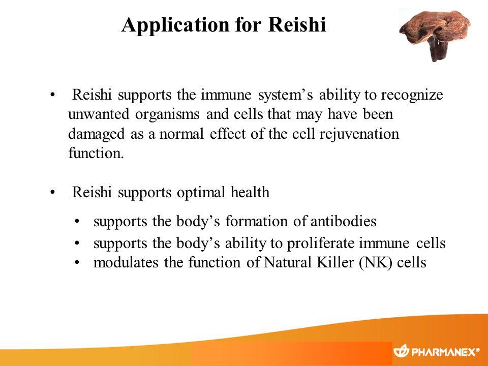 Application for Reishi