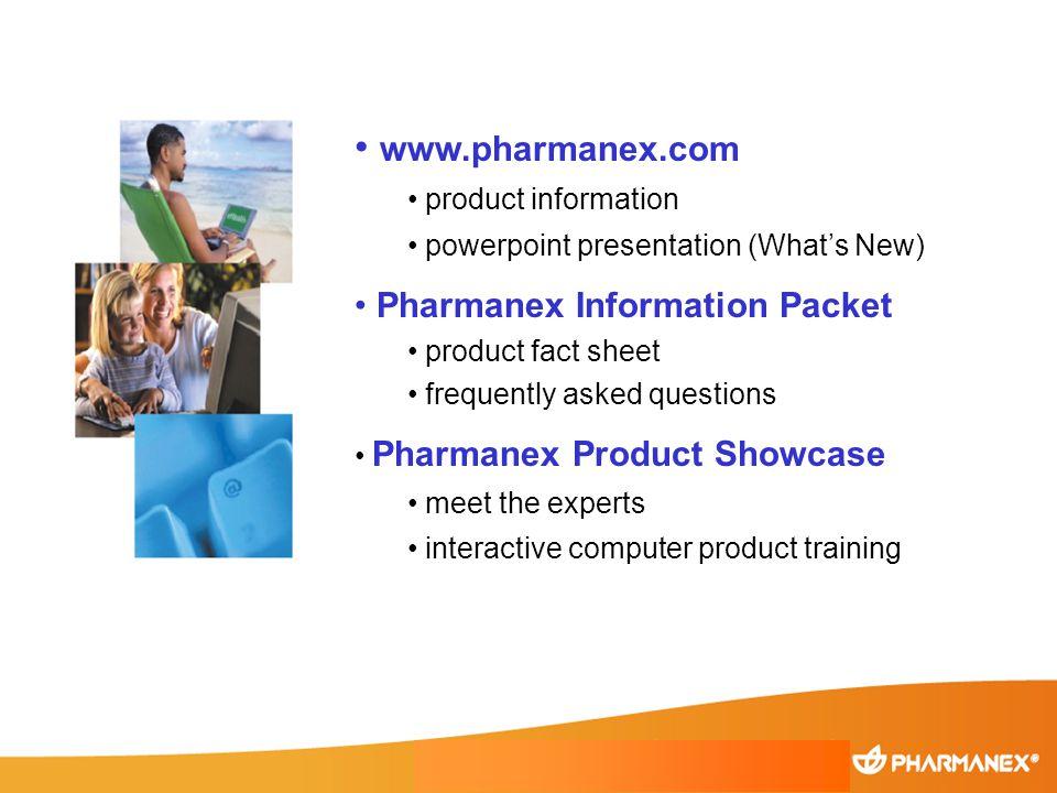 www.pharmanex.com Pharmanex Information Packet product information