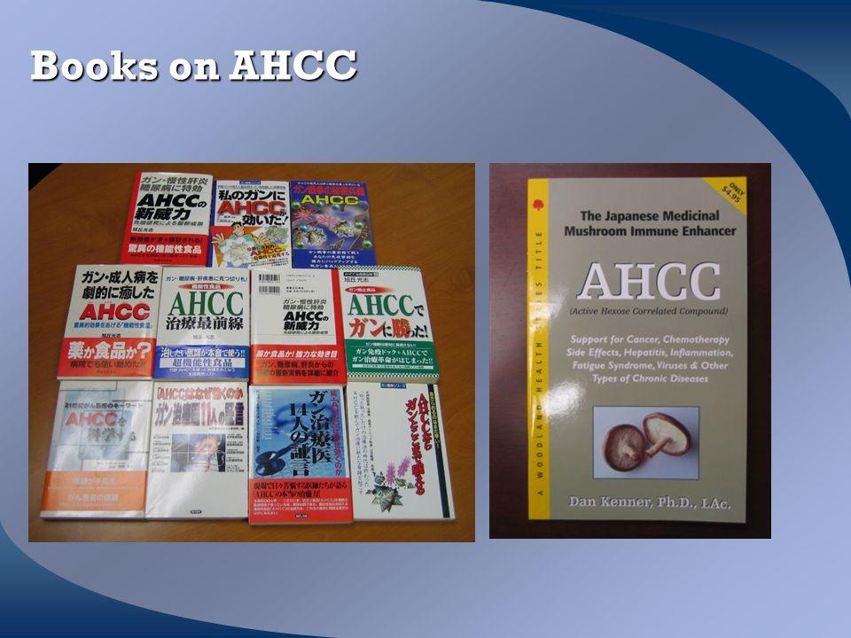 Books on AHCC