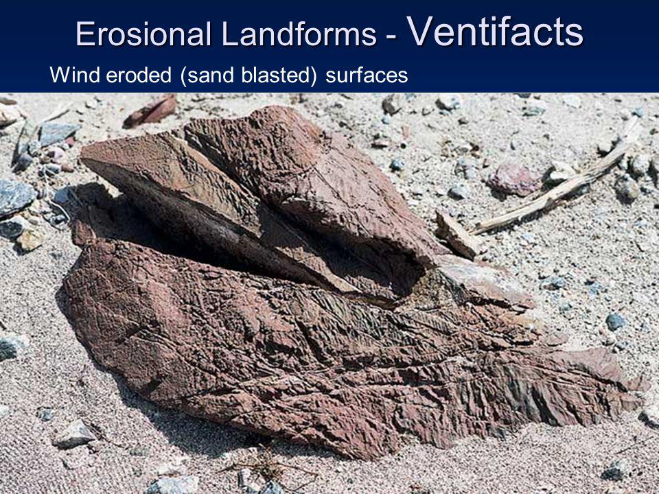 Erosional Landforms - Ventifacts