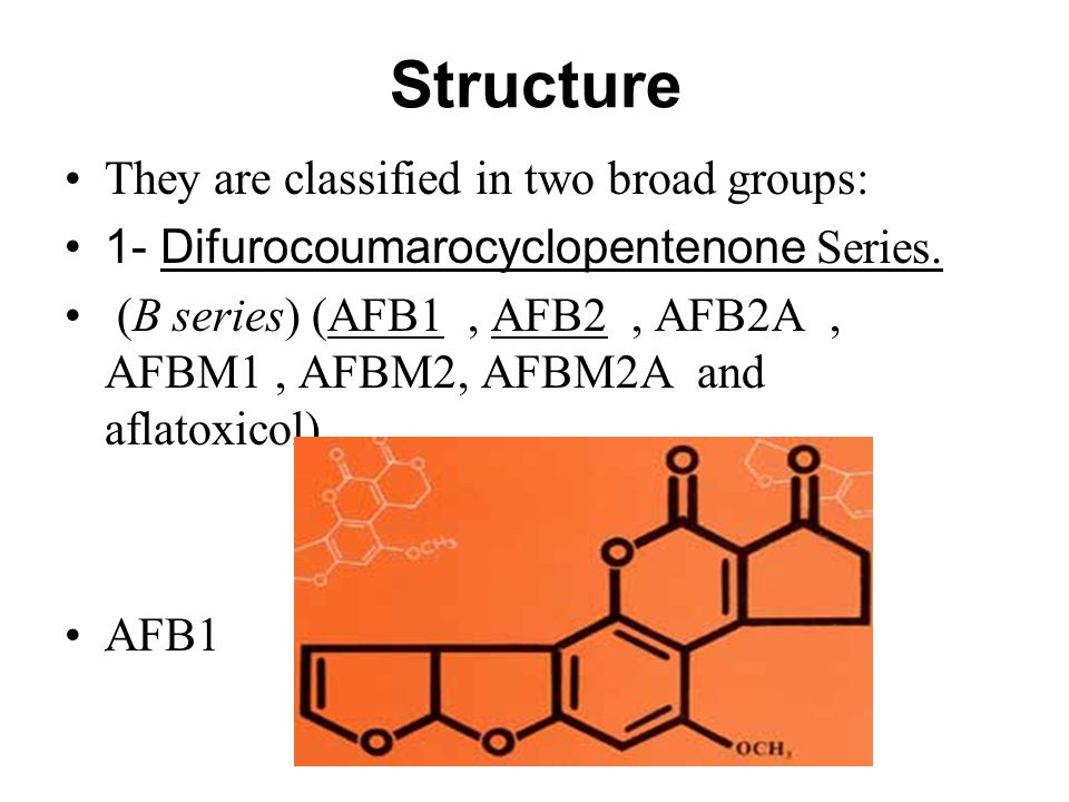 Structure They are classified in two broad groups: