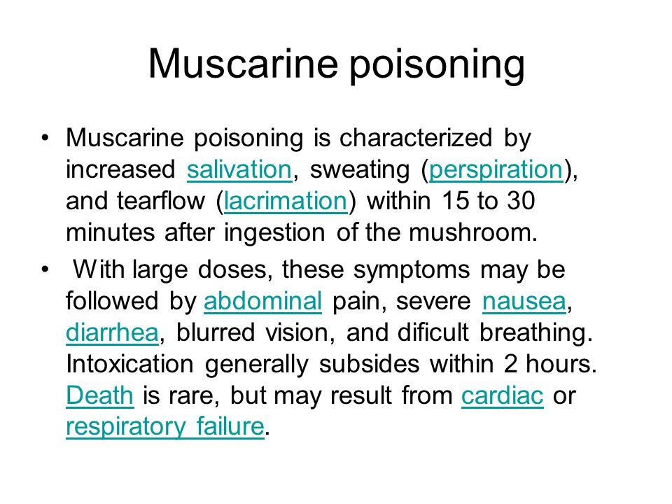 Muscarine poisoning