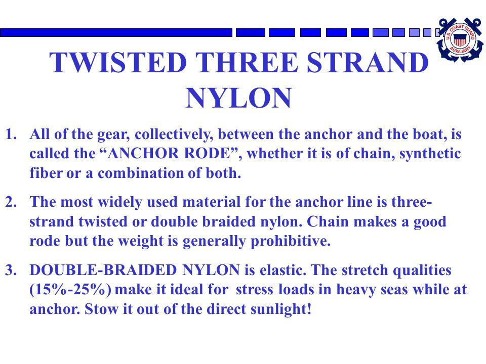 TWISTED THREE STRAND NYLON