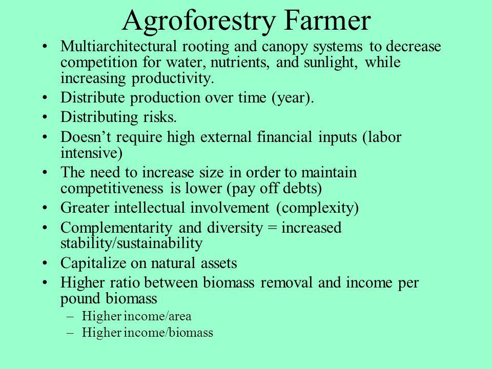 Agroforestry Farmer