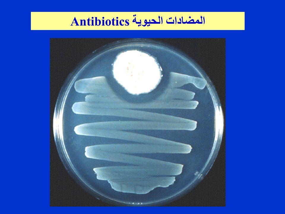 Antibiotics المضادات الحيوية