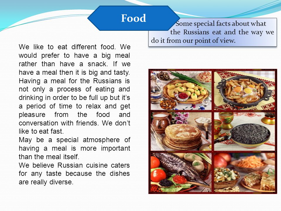 Food Some special facts about what