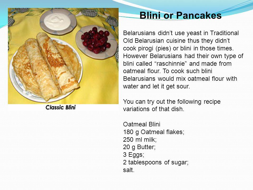 Blini or Pancakes