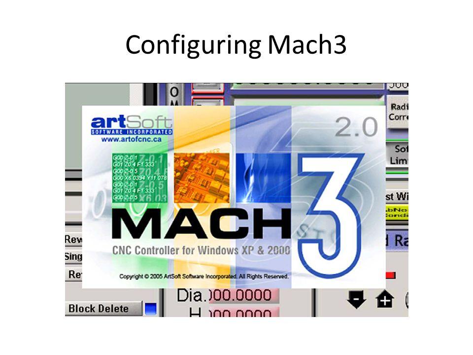 Configuring Mach3