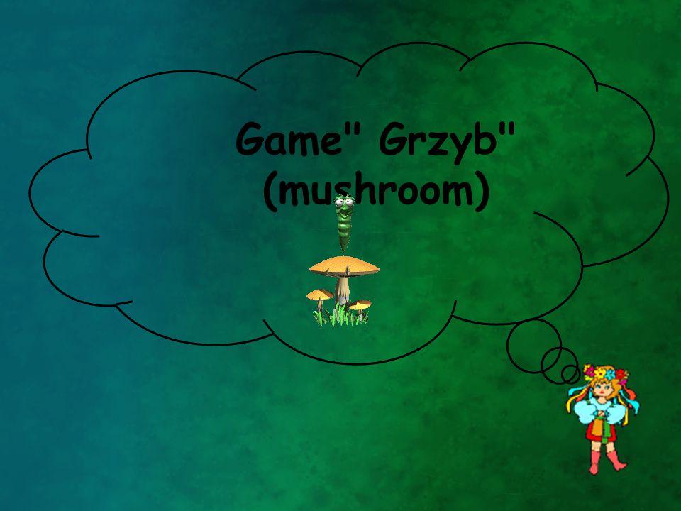Game Grzyb (mushroom)