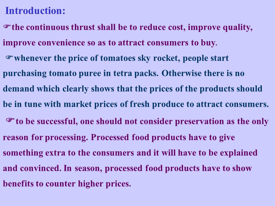 Introduction: the continuous thrust shall be to reduce cost, improve quality, improve convenience so as to attract consumers to buy.
