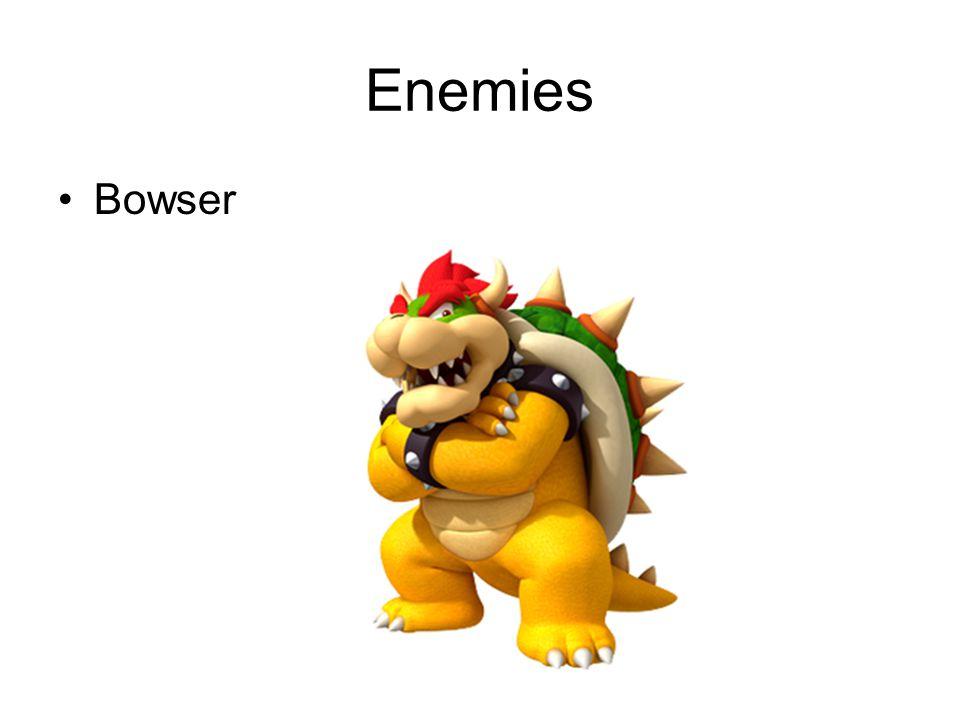Enemies Bowser