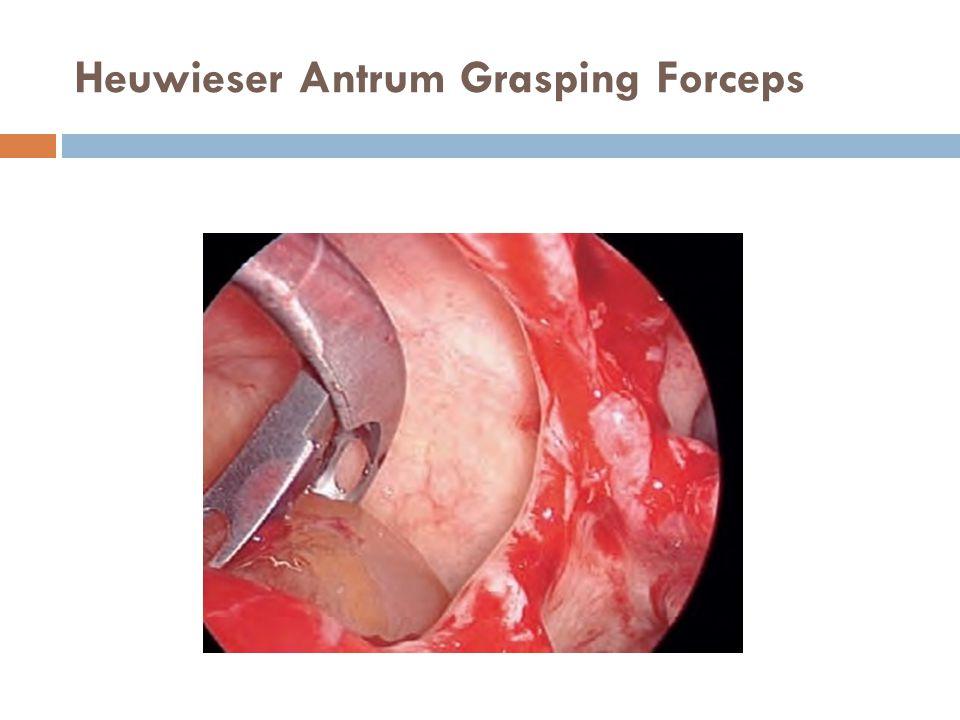 Heuwieser Antrum Grasping Forceps