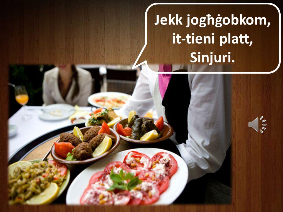 Jekk jogħġobkom, it-tieni platt, Sinjuri.